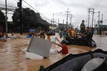 Marineros estadounidenses trabajan junto a las Fuerzas de Operaciones Especiales de Filipinas en las operaciones de rescate en Manila