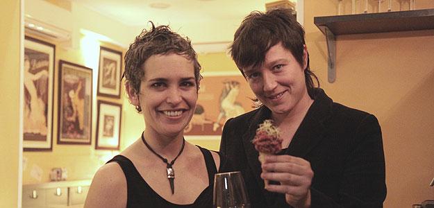 Marta Gutierrez y Rebeca Hernández, propietarias de La Berenjena.