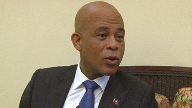 El presidente de Haití, Martelly, reconoce que se enfrenta a una tarea inmensa