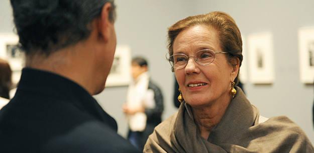 Martine Franck, fotógrafa de Magnum y viuda de Herni Cartier-Bresson