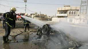 Ver vídeo  'Más de 100 personas mueren por una cadena simultánea de atentados en Irak'