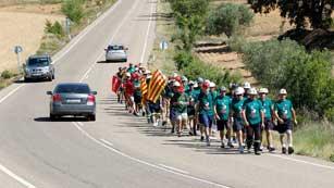 Ver vídeo  'Más de 200 mineros inician la 'marcha negra' hacia Madrid'