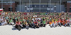Más de 28.000 personas trabajarán como voluntarias durante la visita