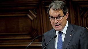 Ver vídeo  'Mas adelanta las elecciones catalanas al 25 de noviembre'