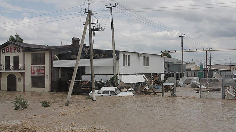 Más de un centenar de muertos por las graves inundaciones en Rusia