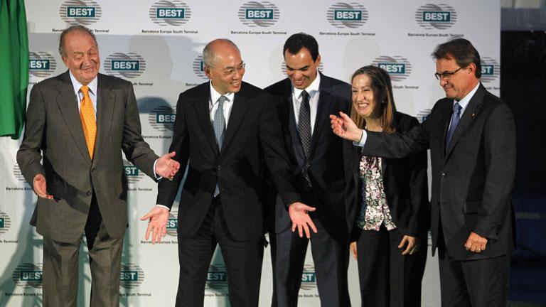 Mas declina ponerse junto al rey en el acto de inauguración de la nueva terminal de contenedores en el Puerto de Barcelona