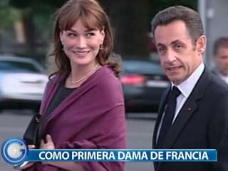 Ver vídeo  'Más Gente - Carla Bruni, artista y primera dama.'