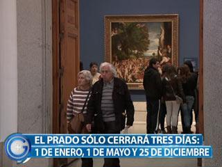 Ver vídeo  'Más Gente - El Museo del Prado abrirá todos los días'