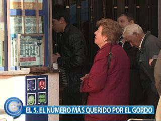 Ver vídeo  'Más Gente- El número 5 uno de los más afortunados en el Gordo de la Lotería'