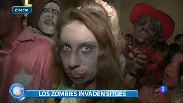 Ir al Video&nbsp;M&aacute;s Gente - Los zombies toman Sitges