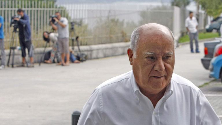 Amancio Ortega, su hija Sandra y el propietario de Mercadona, las tres fortunas más grandes de España