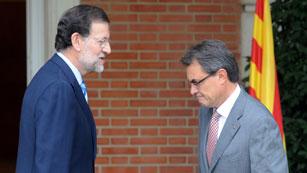 """Ver vídeo  'Mas tomará """"decisiones"""" la próxima semana tras el no de Rajoy a la negociación del pacto fiscal'"""