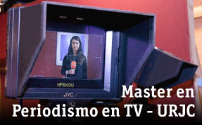 Master en Periodismo en TV - URJC