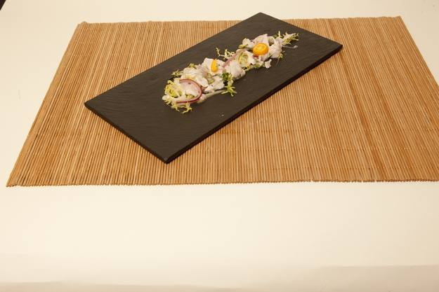 Ceviche con cítricos variados