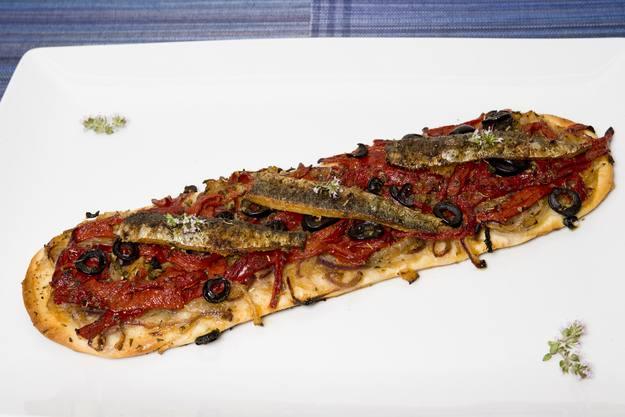 MasterChef - Coca de sardinas con pimientos de Albox