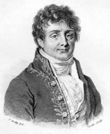 El matemático y físico francés Jean Baptiste Joseph Fourier