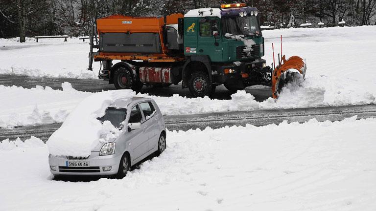 Media España en alerta por el temporal de frío, nieve y viento