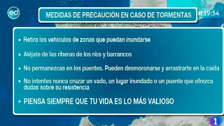 España Directo- Medidas de precaución en caso de tormenta