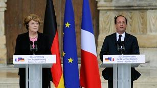 Ver vídeo  'Medio siglo de relaciones pacíficas y provechosas entre Alemania y Francia'