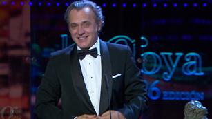 Ver vídeo  'Mejor actor protogonista - Premios Goya 2012'