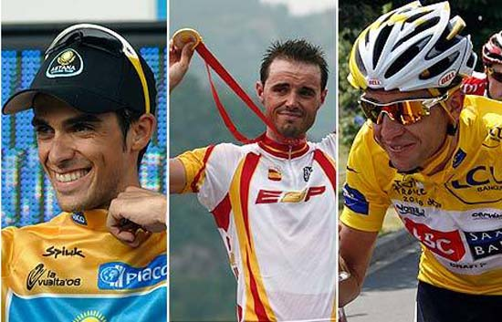 2008, el mejor a&ntilde;o del ciclismo espa&ntilde;ol