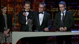 Ver vídeo  'Mejor largometraje de animación - Premios Goya 2012'