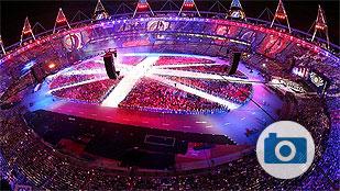 Las mejores imágenes de la clausura de Londres 2012