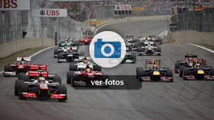 Las mejores imágenes del GP de Brasil