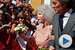 Mejores momentos de la boda de la duquesa de Alba