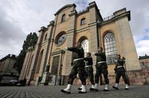 La ceremonia nupcial se celebrará en la catedral de Estocolmo, cuyos primeros vestigios datan del siglo XIII y que ha sido restaurada para la ocasión.