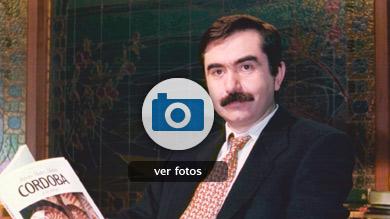 La memoria literaria de Muñoz Molina, en imágenes