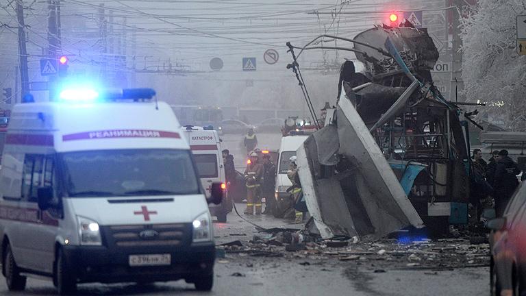 Al menos 10 muertos en un segundo atentado en Volgogrado, Rusia