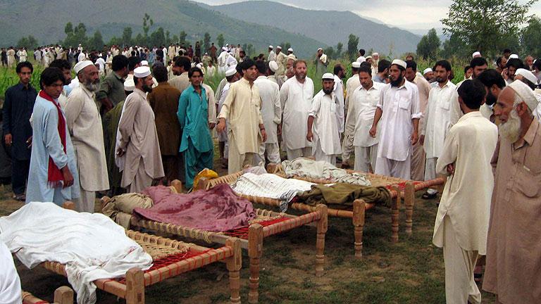 Al menos 14 muertos al estallar una bomba cerca de un autobús en el oeste de Pakistán