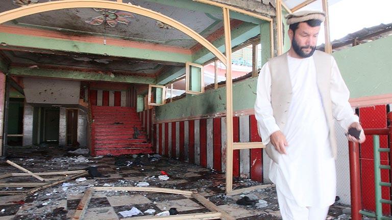 Ver vídeo  'Al menos 17 muertos en un atentado en Afganistán'