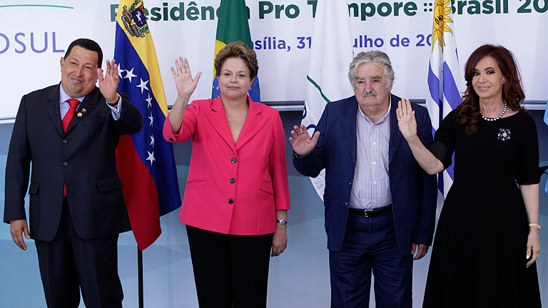 El Mercosur acoge a Venezuela