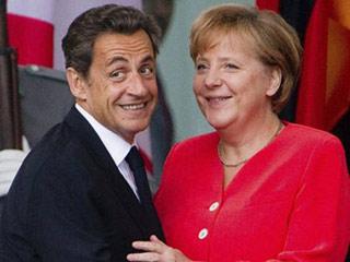 Ver vídeo  'Merkel apoya a Sarkozy para que este siga en el Elíseo'