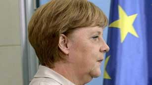 Ver vídeo  'Merkel no presionará a ningún país para que pida un rescate'
