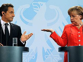 Ver vídeo  'Merkel y Sarkozy acercan posturas en las sanciones a los Estados y el BCE antes de su reunión'