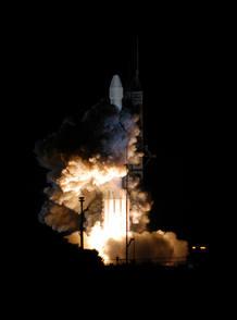 La sonda Messenger fue lanzada el 3 de agosto de 2004.