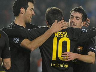 Ver vídeo  'Messi marca el segundo en el descuento'