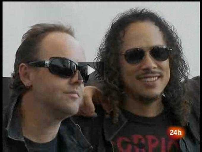 Ver v?deo  'Metallica regresa a los escenarios'