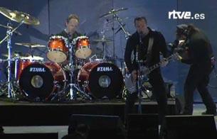 Ver v?deo  'Metallica, los reyes del 'heavy' en Getafe'