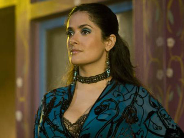 La mexicana Salma Hayek, que protagonizó 'Bandidas' junto a Penélope Cruz, interviene en 'Americano'