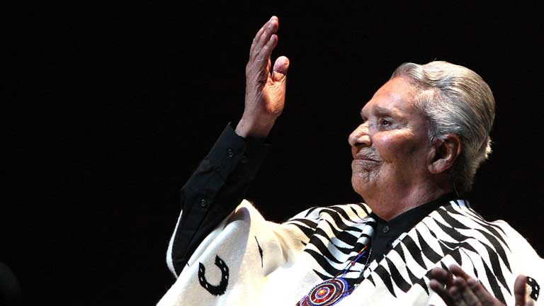 M&eacute;xico llora la muerte de Chavela Vargas, que muri&oacute; ayer a los 93 a&ntilde;os