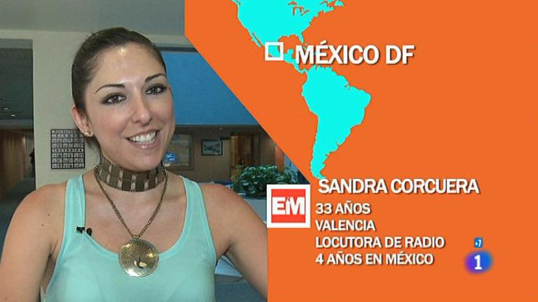 Españoles en el mundo - México D.F. - Sandra