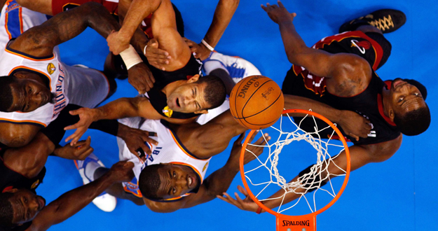 "Miami Heat v Oklahoma City Thunder â¿"" Game Two"