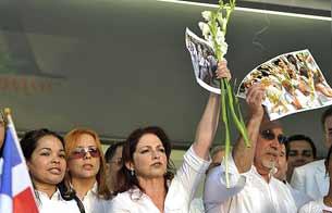 Ver v?deo  'Miami se solidariza con las Damas de Blanco'