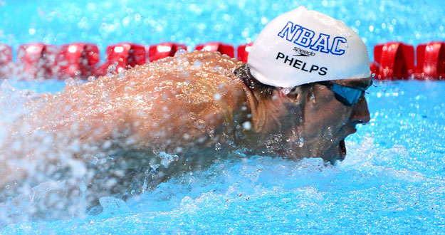 Michael Phelps se ha impuesto a Lothte en la final de 200m estilos.