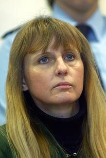 Michelle Martin, exmujer y cómplice del pedófilo Marc Dutroux, en una imagen de archivo de junio de 2004.