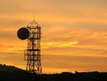Torre de telecomunicaciones mediante microondas en Wellington Nueva Zelanda